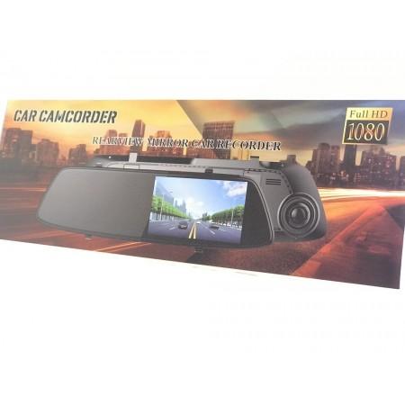 Автомобильный видеорегистратор-зеркало заднего вида (2 камеры)