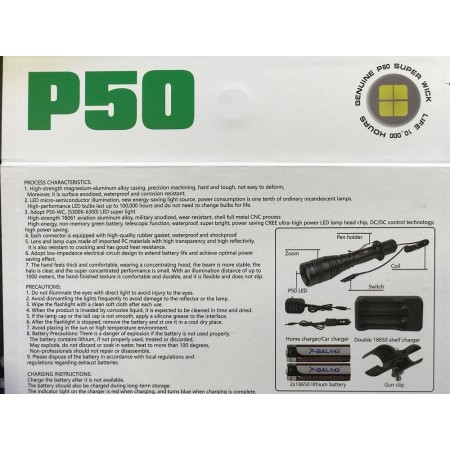 Подствольный фонарик QP54-P50 оптом