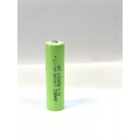 Аккумулятор литий-ионный 18650 2200mAh (с защитой) оптом