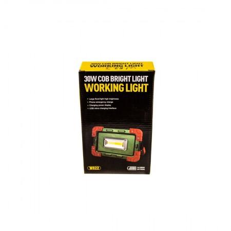 LED Лампа 30W с аккумулятором W823 оптом