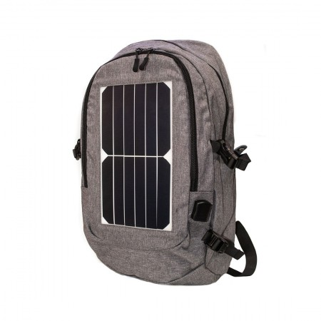 Рюкзак с USB и солнечной панелью N103-1 оптом