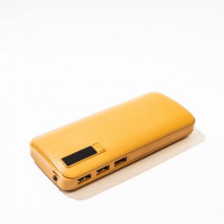 Power Bank 20000mAh LCD-display (Yellow) оптом