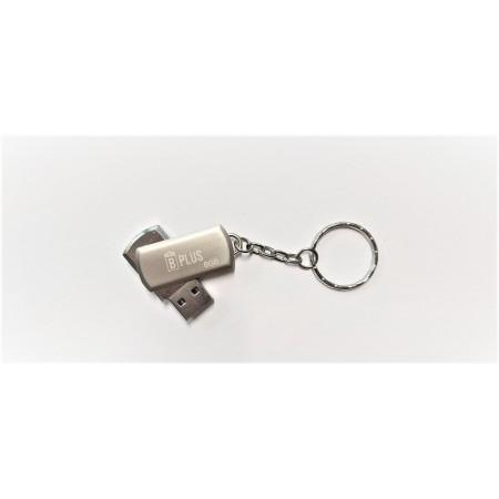 Флешка брелок USB 3.0 B+plus Flash 8 GB серебристая оптом