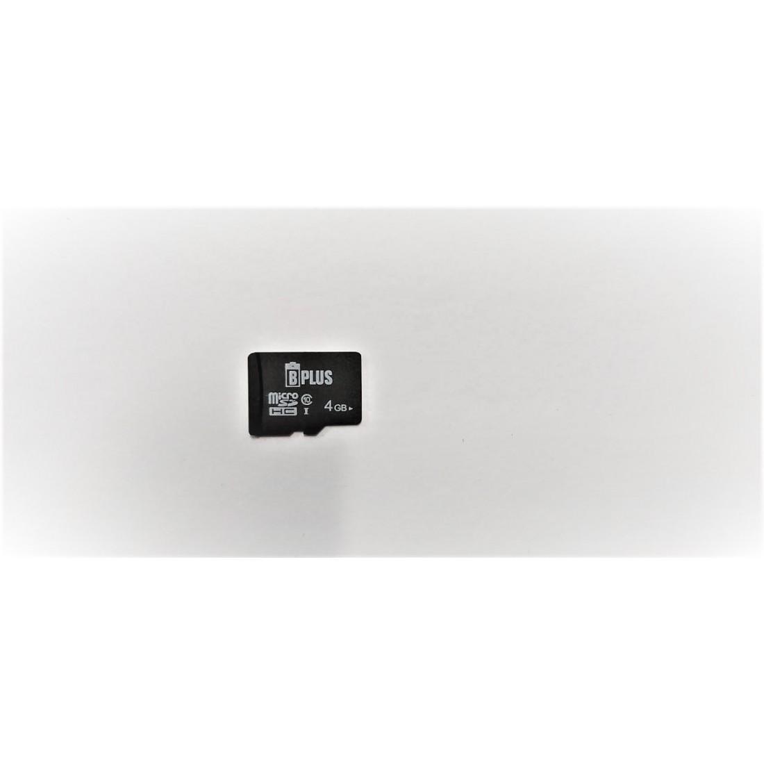 Карта памяти 4 gb micro sd B+plus 10 class SD adapter оптом