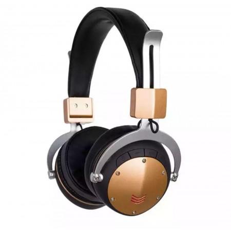 Наушники Bluetooth над ухом Стерео гарнитура мягкие кожаные