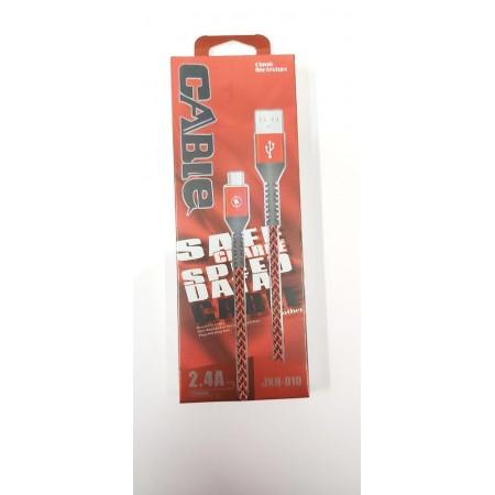 Кабель Micro USB Нейлоновый плетеный шнур для телефона USB