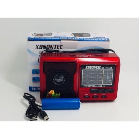 Радиоприемник XB-1781 BT Bluetooth оптом