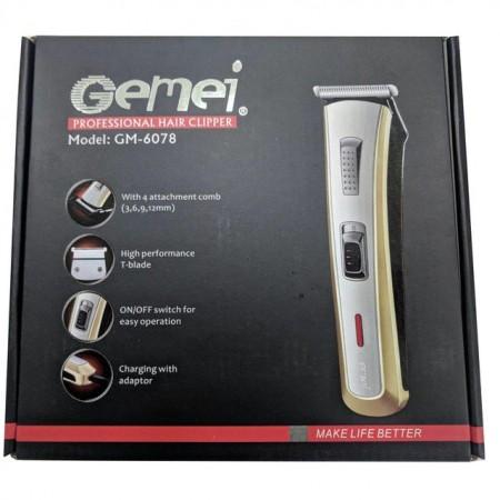 Машинка для стрижки Gemei GM-6078 оптом